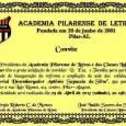 Convidam para a reabertura da sede Academia Pilarense de Letras após reforma