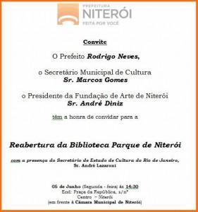 ABERTURA bilbioteca Niteroi