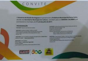 convite POrto Calvo