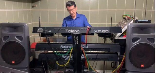 Prof, Julião Marques, Músico, autorizou o Grupo de Comunicação Cultural Gente da Gente, exibir algumas músicas por ele executada.